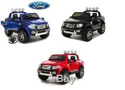 12 V Ford Ranger Pickup Kids De Conduite Électrique Sur Camion 2 Places + Télécommande
