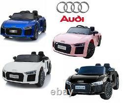 12v Audi R8 Spyder Enfants Batterie Électrique Tour Sur Le Contrôle Parental À Distance De Voiture