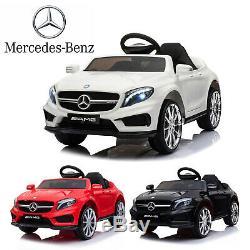 12v Enfants Tour Sur La Voiture Électrique Mercedes Benz Licensed Télécommande With2 Motors