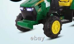 12v Kids Electric Ride Sur Tracteur Avec Réservoir D'eau Et Télécommande Parentale
