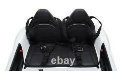 12v Mercedes Gt R Deux Seater Kids Électric Ride On Car + Parental Remote Control