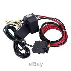 12v Treuil Électrique / 4500lb Câble D'acier / Heavy Duty / Bateau / Télécommande Sans Fil / Uk