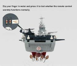 1350 Télécommande Bateau De Guerre Bataillon Bateaux Grand Rc Navire Jouet Électrique
