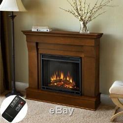 1350w Foyer Électrique Chauffe Feu Autoportant Flamme Effet Poêle & Surround