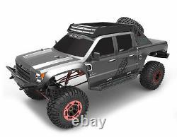 15 Clawback Électrique Rc Monster Truck Rock Crawler 4 Roues Motrices Off Road 2.4ghz Gris