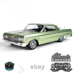 1/10 Chevrolet Impala Ss 1964 Rc Car Hopping Lowrider Kandy & Chrome Edition Gre