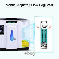 1-6l/min Portable Home Medical Oxygen Concentrateator Generator Machine 220v Royaume-uni