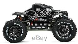 1 / 8th Mad Beast Rc Monstre À Distance Truck Race Contrôle Ed. Rtr Brushless With540l