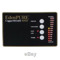 2019 Edenpure Coppersmart 1000 Chauffe-cuivre Ptc Open Box