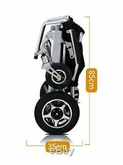2019 Électrique Motorisé Fauteuil Roulant Électrique Pliant Léger Avec Télécommande
