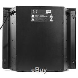 26 Insert Électrique Firebox Panneau De Verre Plat Chauffage Cheminée Minuterie Avec Télécommande