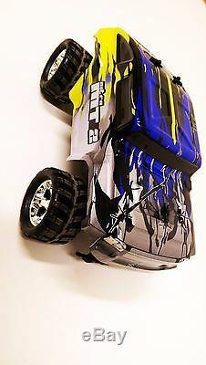 2,4 Ghz Rc Voiture Télécommandée Off Road Grande Roue Pour Enfants Toy Monster Truck Racer
