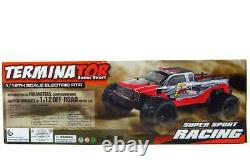 2.4g 112 Brushless Rc Terminator Remote Control Racing Truck (rouge)