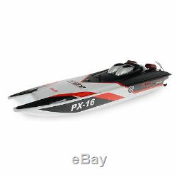2.4g 30 Tempête Furtif Px-16 Racing Radio Distance Racing Contrôle Speed boat 1/16