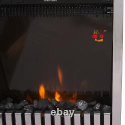 2kw Télécommande Moderne Cheminée Électrique Led Fire Place Chauffe-feu