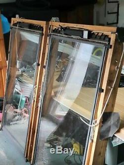 2velux Lanterneaux Ggl Pk10 Fenêtres De Toit Électrique Commandé À Distance Avec Clignotant
