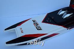 30 Storm Moteur Px-16 Racing Radio Télécommande Bateau 2.4ghz Catamamaran 1/16