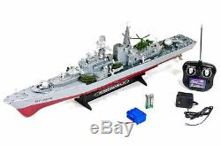 31 U. S Destroyer Battleship Warship Rc Bateau 2ch Télécommande Ht2879 1115