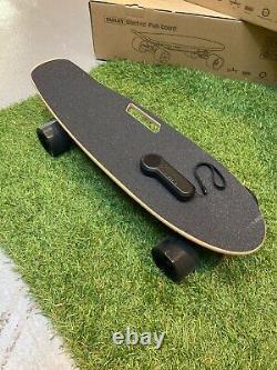 350w Electric Skateboard Longboard Scooter 20km/h Avec Télécommande & Moteur