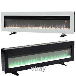 40/50/60 Foyer Électrique Foyer Autonome Mur/insert Monté Fire Suite Heater
