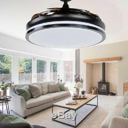 42 Invisible Fan Lumière Ventilateur De Plafond Moderne Ventilateur Électrique Led Lustre
