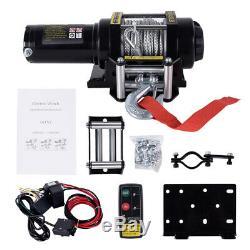 4500lbs Heavy Duty Électrique De Récupération Treuil 12v Télécommande Corde Camion Remorque
