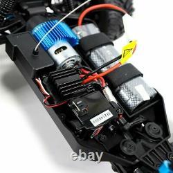 4wd Rc Monster Truck Véhicule Tout-terrain 1/10 Télécommande Buggy Crawler Car Blue