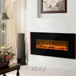 50 Pouces Télécommande Électrique Foyer D'incendie 2kw Led Fire Place Heater Stove