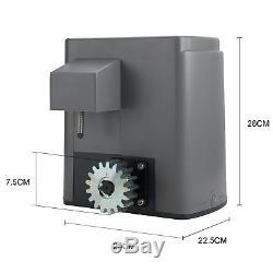 600kg Électrique Grilles Coulissantes Automatique Du Moteur Télécommande 4m Rack