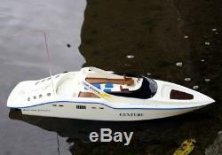 7004 Double Siècle Cheval Téléguidés Rc À Distance Speed racing Boat Ep Rtr