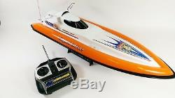 7007 Double Cheval Flying Fish Télécommande Rc Radio Speed racing Boat Ep Rtr