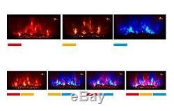 7 Couleur Led Flamme Effet Truflame Connexion Effet Courbe Murale Feu Électrique