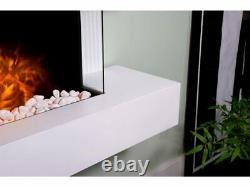 Adam Manola Wall Mounted Electric Fire Suite Downlights Remote 21710 Rrp £569
