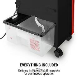 Air Portable Cooler 4in1 Chambre Climatisation Ventilateur 6 Litres Réservoir 65w Purificateur Rouge