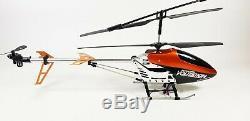 Alliage 9053 Volitation Rc Radio Distance Énorme Commande Extérieure R / C Gyro Helicopter