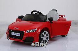 Audi Tt Rs Officiel Licensed Enfants Tour Sur La Voiture Électrique Voiture Jouet Télécommande