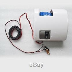 Bateau Guindeau Électrique Marine D'eau Salée Avec Télécommande Sans Fil Max 11 KG