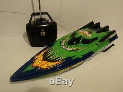 Bateau Télécommandé Radio Télécommandé Speed boat Racing (piles Incluses)