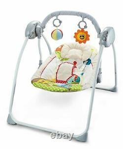 Bébé Nouveau-né Électrique Swings Bouncer Musical Rocker Chair Berceau Avec Télécommande