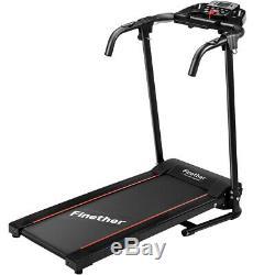 Bluetooth Pro Treadmill Électrique Motorisé Pliant Fonctionnement De La Machine Home Fitness