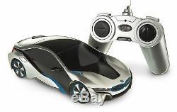 Bmw I8 Commande Radio À Distance 1/24 Prêt À Démarrer La Voiture De Sport Rc Fast Kids Xmas Gift