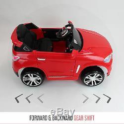 Bmw X5 Style Kids Electric Ride Sur Les Voitures De Voiture Jeep 12 V Batterie Voiture Télécommande