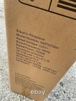Brandnewsealed Napoleon Nefvc38h Allura Encastré Vertical 38 Cheminée Électrique