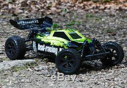Bsd Racing Flux Assault V2 Rc Buggy Voiture 4 Roues Motrices Fast Radio Télécommandé