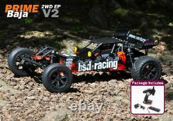 Bsd Racing Prime Baja 1/10e Échelle Rc Off Road Buggy Radio Voiture Télécommandée