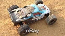 Buggy Truck Nitro Rc Car Télécommandé Off Road 1/10 2.4ghz Échelle