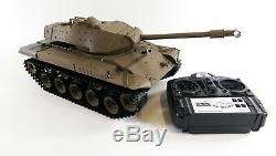 Bulldog M41a3 Militaire Us Rc Radio Fumer À Distance Bataille De Contrôle Du Réservoir Heng Long