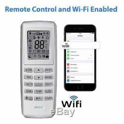 Climatiseur Portatif Ecoair Gelo Télécommande 3 En 1 Wi-fi Activée 9000btu