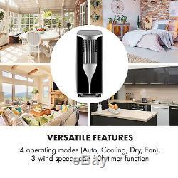 Climatiseur Unité Portable Climatisation 9000btu Chambre Cooler Télécommande