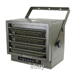 Comfort Zone Digital Fan-forced Ceiling Mount Heater Avec Écran Distant Et LCD